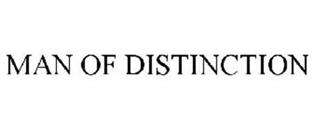 MAN OF DISTINCTION