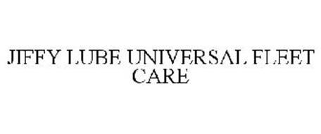 JIFFY LUBE UNIVERSAL FLEET CARE