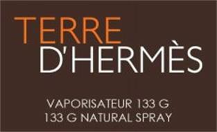 TERRE D'HERMÈS VAPORISATEUR 133 G 133 G NATURAL SPRAY