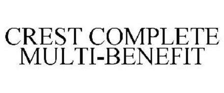 CREST COMPLETE MULTI-BENEFIT