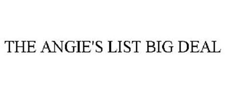 THE ANGIE'S LIST BIG DEAL