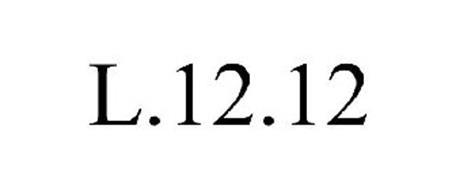 L. 12. 12