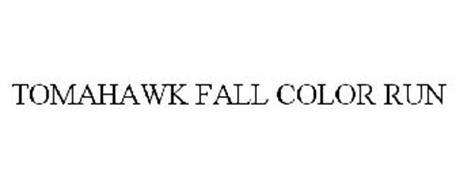 TOMAHAWK FALL COLOR RUN