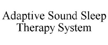 ADAPTIVE SOUND SLEEP THERAPY SYSTEM