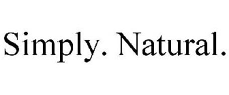 SIMPLY. NATURAL.