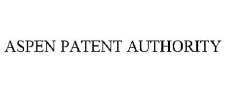 ASPEN PATENT AUTHORITY
