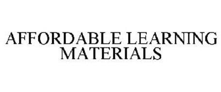 AFFORDABLE LEARNING MATERIALS