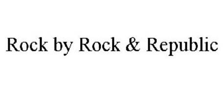 ROCK BY ROCK & REPUBLIC