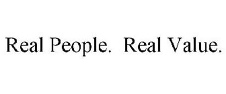 REAL PEOPLE. REAL VALUE.