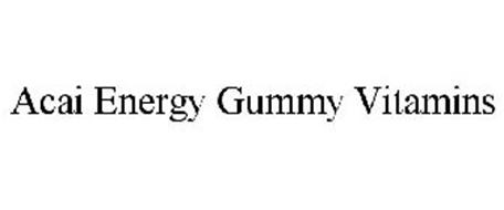ACAI ENERGY GUMMY VITAMINS