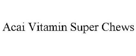 ACAI VITAMIN SUPER CHEWS