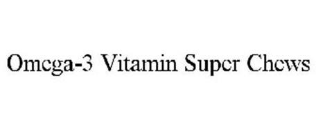OMEGA-3 VITAMIN SUPER CHEWS