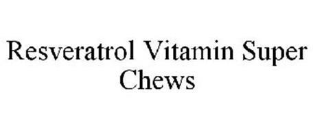 RESVERATROL VITAMIN SUPER CHEWS