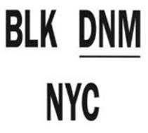 BLK DNM NYC