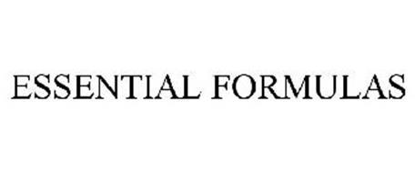 ESSENTIAL FORMULAS