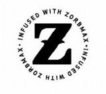 Z INFUSED WITH ZORBMAX · INFUSED WITH ZORBMAX ·