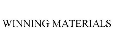 WINNING MATERIALS