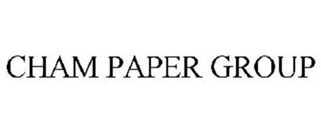 CHAM PAPER GROUP