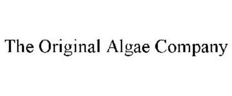 THE ORIGINAL ALGAE COMPANY