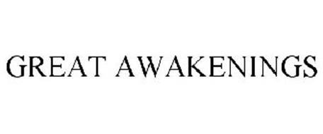 GREAT AWAKENINGS