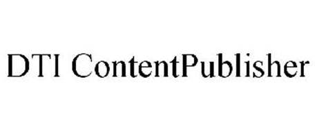 DTI CONTENTPUBLISHER