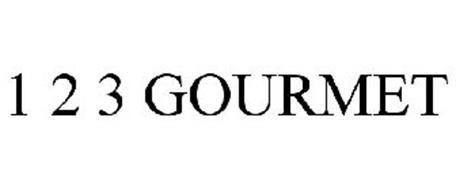 1 2 3 GOURMET