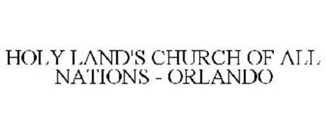 HOLY LAND'S CHURCH OF ALL NATIONS - ORLANDO