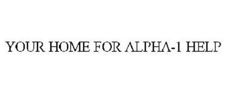 YOUR HOME FOR ALPHA-1 HELP