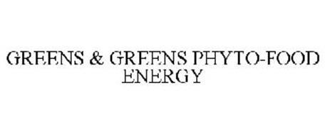 GREENS & GREENS PHYTO-FOOD ENERGY