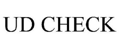 UD CHECK