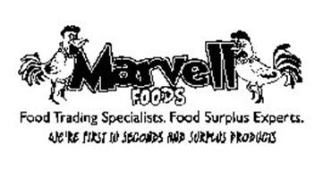 MARVELL FOODS FOOD TRADING SPECIALISTS. FOOD SURPLUS EXPERTS. WE'RE FIRST IN SECONDS AND SURPLUS PRODUCTS