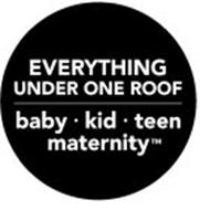 EVERYTHING UNDER ONE ROOF BABY· KID ·TEEN MATERNITY