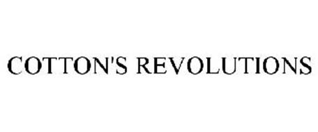 COTTON'S REVOLUTIONS