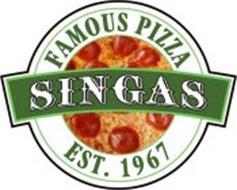 SINGAS FAMOUS PIZZA EST. 1967
