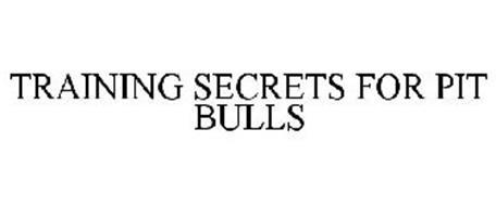 TRAINING SECRETS FOR PIT BULLS