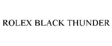 ROLEX BLACK THUNDER