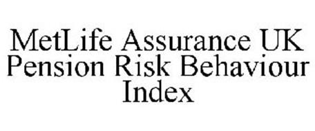 METLIFE ASSURANCE UK PENSION RISK BEHAVIOUR INDEX