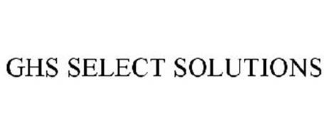 GHS SELECT SOLUTIONS