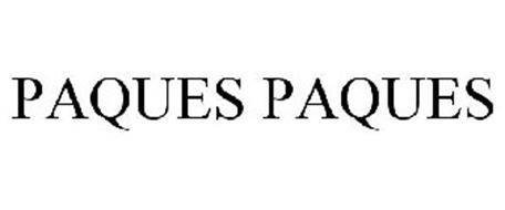 PAQUES PAQUES