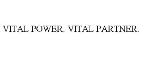 VITAL POWER. VITAL PARTNER.