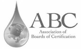 ABC ASSOCIATION OF BOARDS OF CERTIFICATION