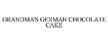 GRANDMA'S GERMAN CHOCOLATE CAKE