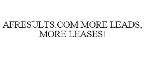 AFRESULTS.COM MORE LEADS, MORE LEASES!