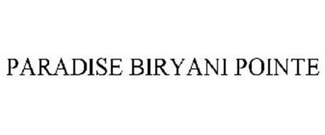 PARADISE BIRYANI POINTE