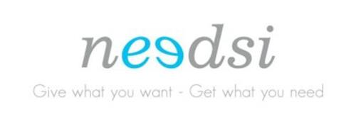 NEEDSI GIVE WHAT YOU WANT - GET WHAT YOU NEED