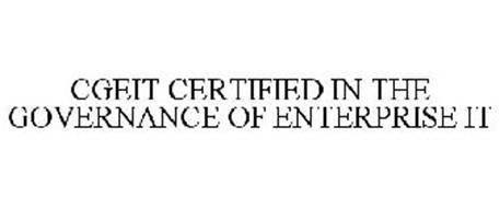 CGEIT CERTIFIED IN THE GOVERNANCE OF ENTERPRISE IT