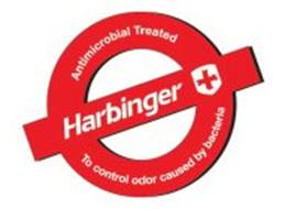 HARBINGER ANTIMICROBIAL TREATED TO CONTROL ODOR CAUSED BY BACTERIA
