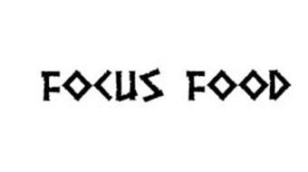 FOCUS FOOD