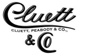 CLUETT & CO CLUETT, PEABODY & CO.,