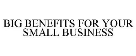 BIG BENEFITS FOR YOUR SMALL BUSINESS